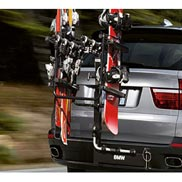 BMW Swing Away Hitch-Mounted Ski and Snowboard Carrier