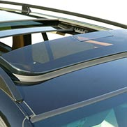 BMW Smoked Sun/Wind Deflector for Vehicles with Panoramic Sunroof for X3
