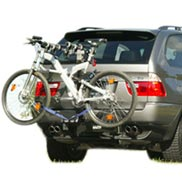 BMW Swing Away Hitch-Mounted Bike Carrier