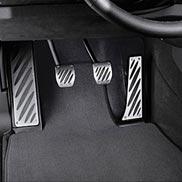 BMW Aluminum Footrest