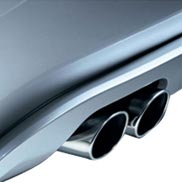 BMW Chrome Tailpipe Trim