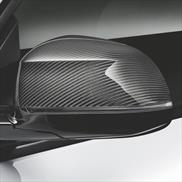 BMW M Performance Carbon Fiber Mirror Caps