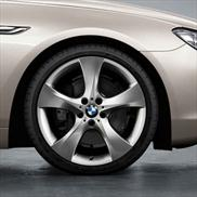 BMW Star Spoke 311 in Chrome Wheel and Tire Set