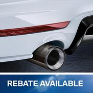 BMW M Performance Carbon Fiber Exhaust Pipe Finishers