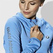 BMW Athletics Hooded Pullover Ladies