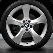 BMW Star Spoke 311 - Silver Individual Rims