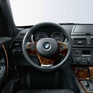 BMW Wood Trim for Leather Sport Steering Wheel
