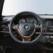BMW Wood Steering Wheel Cover