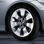 "BMW 17"" Style 158 Winter Complete Wheel and Tire Set"