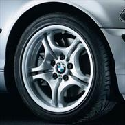 BMW Cold Weather M Double Spoke 68 Wheel and Tire Assembly