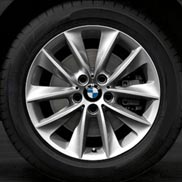 BMW V Spoke 307 Cold Weather Wheel and Tire Set