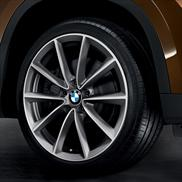 BMW V-Spoke 324 Alloy Wheel and Tire Set