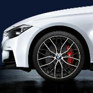 "BMW M Performance Double-Spoke 405M, 20"" Lightweight Forged Wheels"