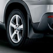 "BMW Mud Flaps for Vehicles with 20"" or 21"" Wheels with Aero Kit"