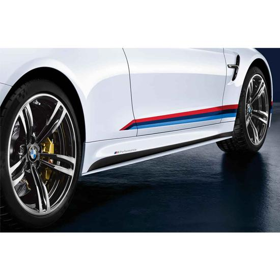 ShopBMWUSAcom BMW M PERFORMANCE ROCKER PANEL DECALS - Bmw rocker panel decals