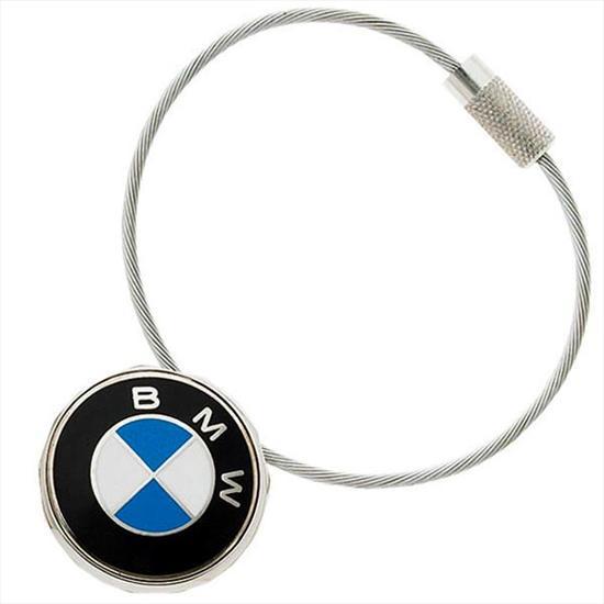 shopbmwusa com bmw cable roundel key ring