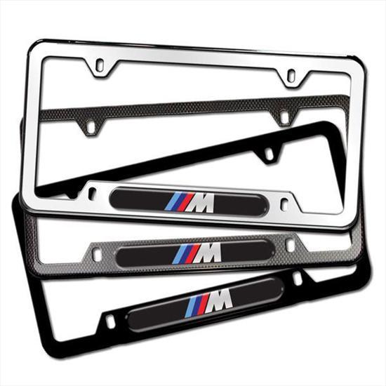 BMW M Logo License Plate Frames  sc 1 st  ShopBMWUSA.com & ShopBMWUSA.com: BMW M LOGO LICENSE PLATE FRAMES