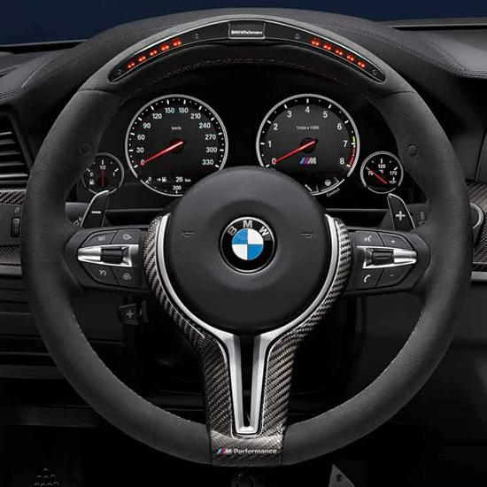 ShopBMWUSA.com: BMW M PERFORMANCE ELECTRONIC STEERING WHEEL FOR M SPORT EQUIPPED VEHICLES