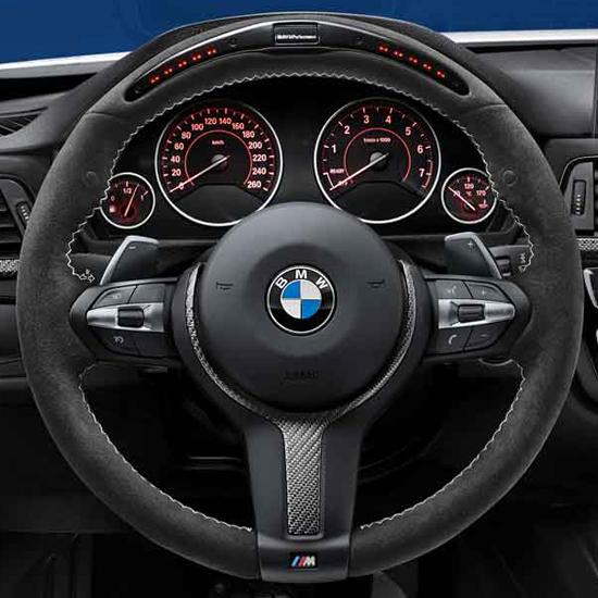 bmw m performance electronic steering wheel for m sport equipped vehicles. Black Bedroom Furniture Sets. Home Design Ideas