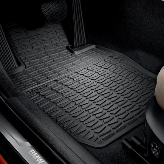 ShopBMWUSA.com: BMW ALL WEATHER RUBBER FLOOR MATS