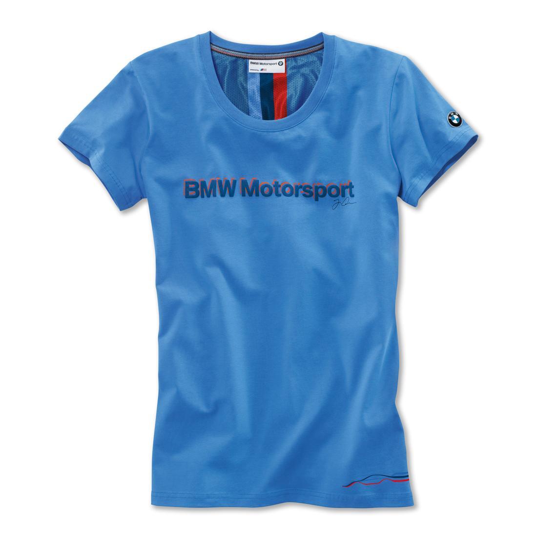 8d32f84b ShopBMWUSA.com: BMW MOTORSPORT LADIES' FAN SHIRT