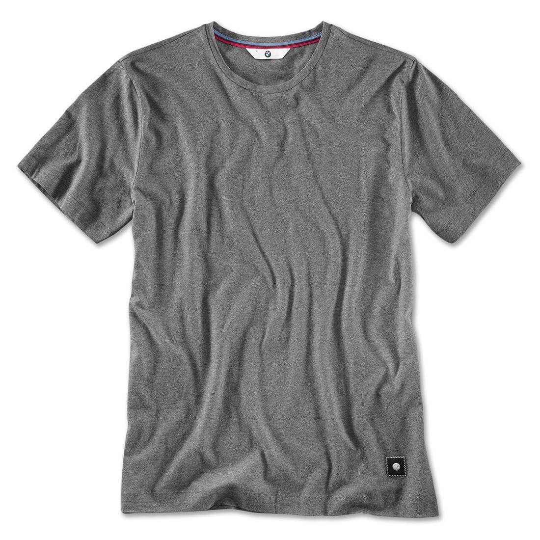 Shopbmwusa Bmw T Shirt V Neck Mens Grey