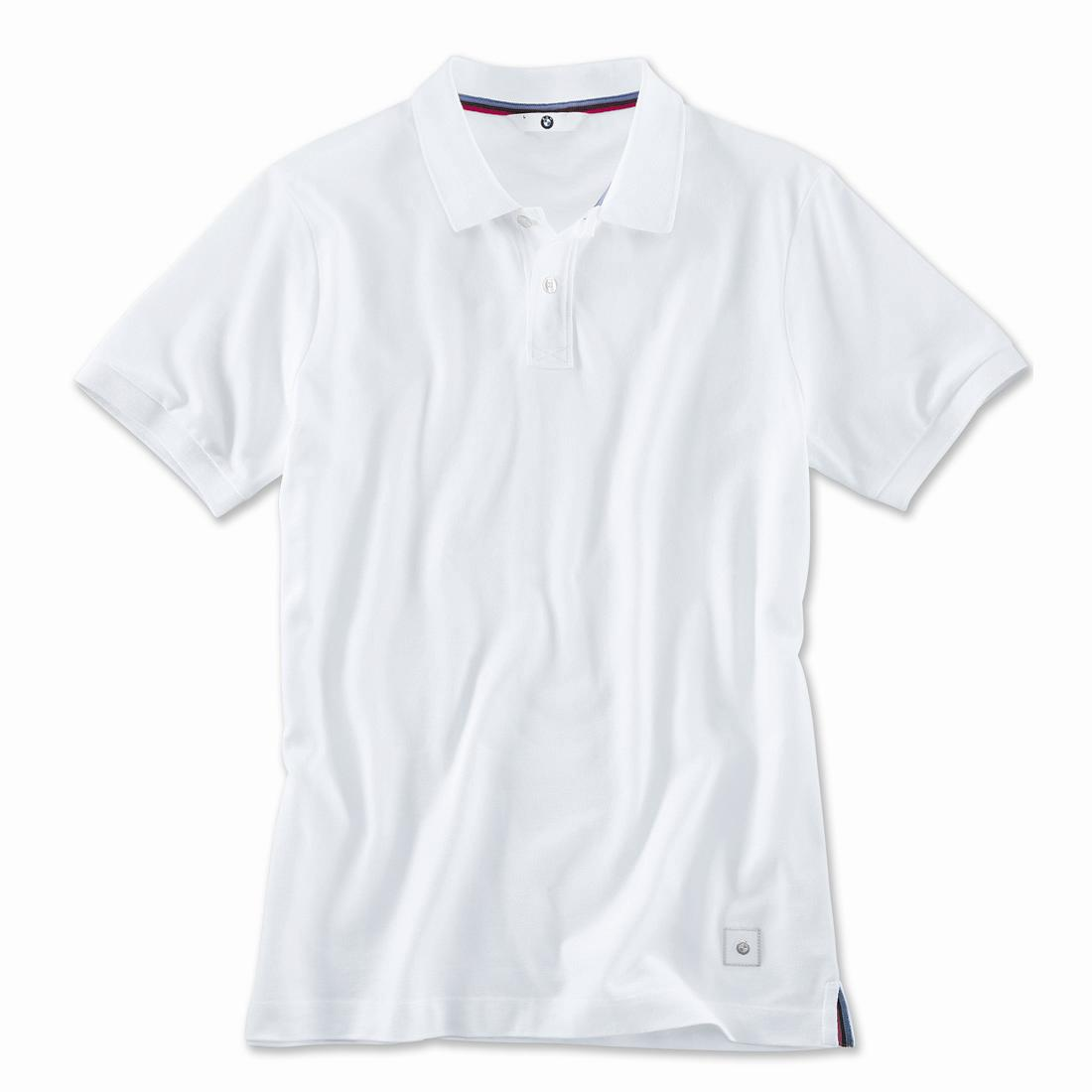 Bmw polo shirt men white for Man in polo shirt