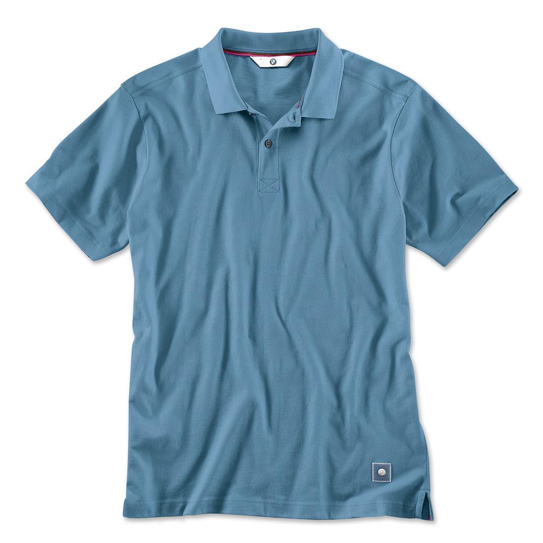 Shopbmwusa Com Bmw Men Polo Shirt Blue