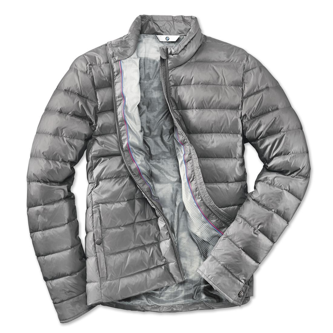 ShopBMWUSA.com: BMW LIGHTWEIGHT DOWN JACKET MEN'S GREY