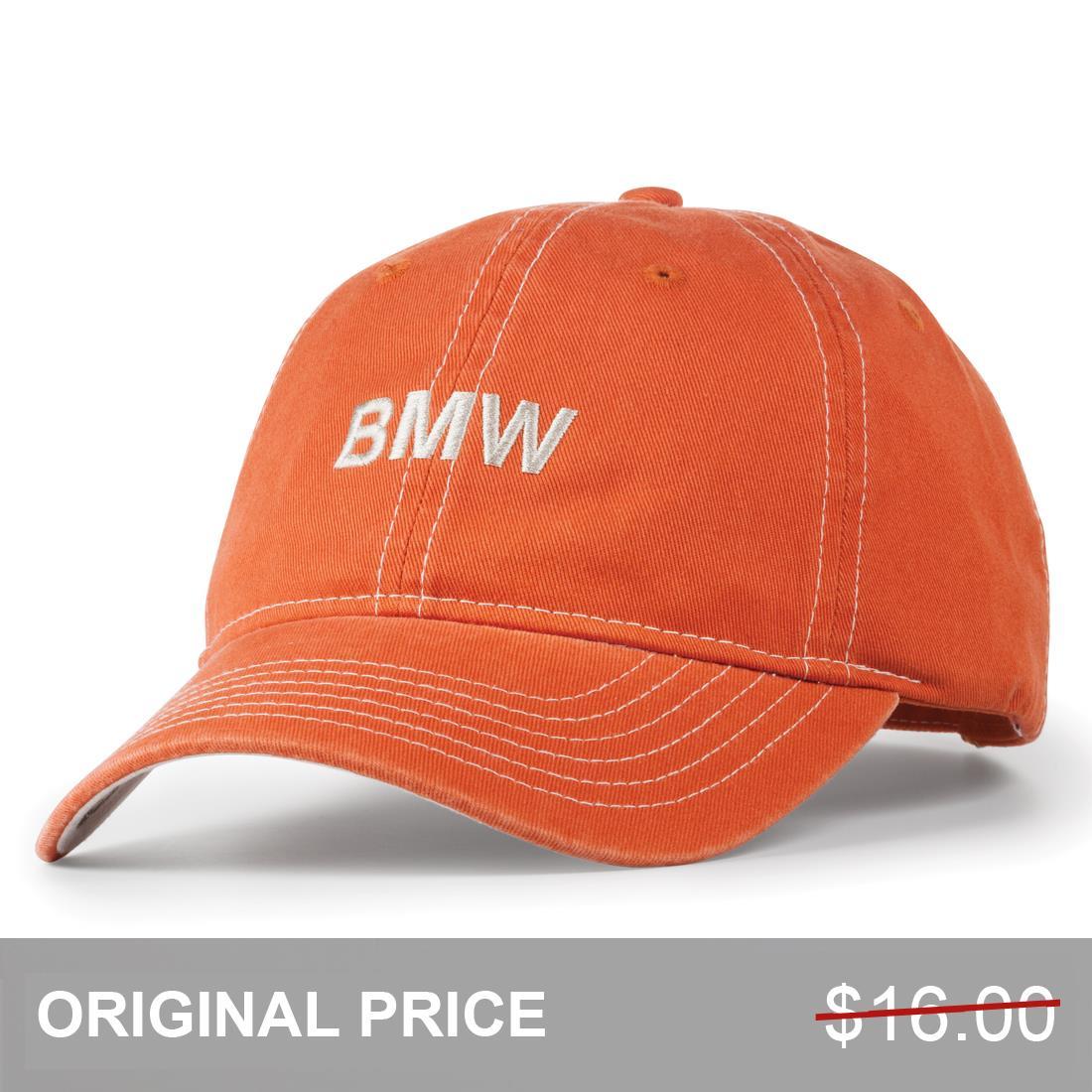 ShopBMWUSA.com: BMW CONTRAST STITCH CAP Stitch Cap