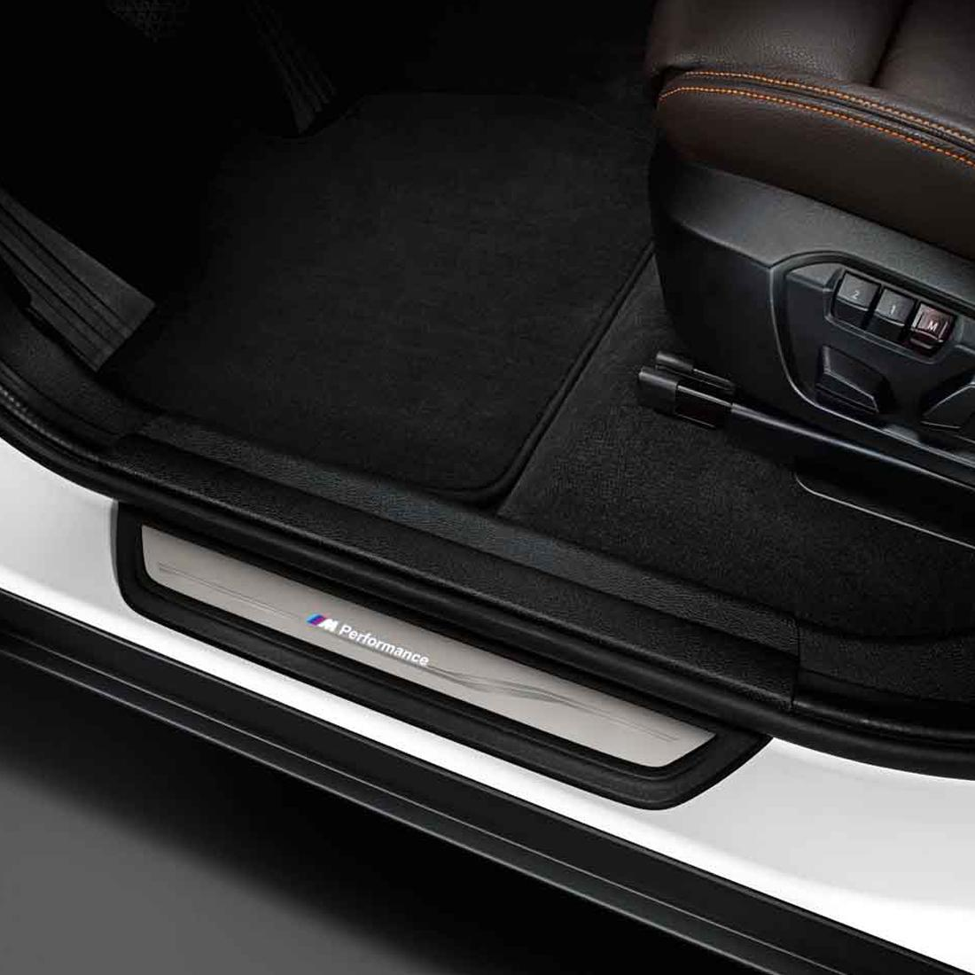 BMW M Performance Illuminated Door Sills & ShopBMWUSA.com: BMW M PERFORMANCE ILLUMINATED DOOR SILLS