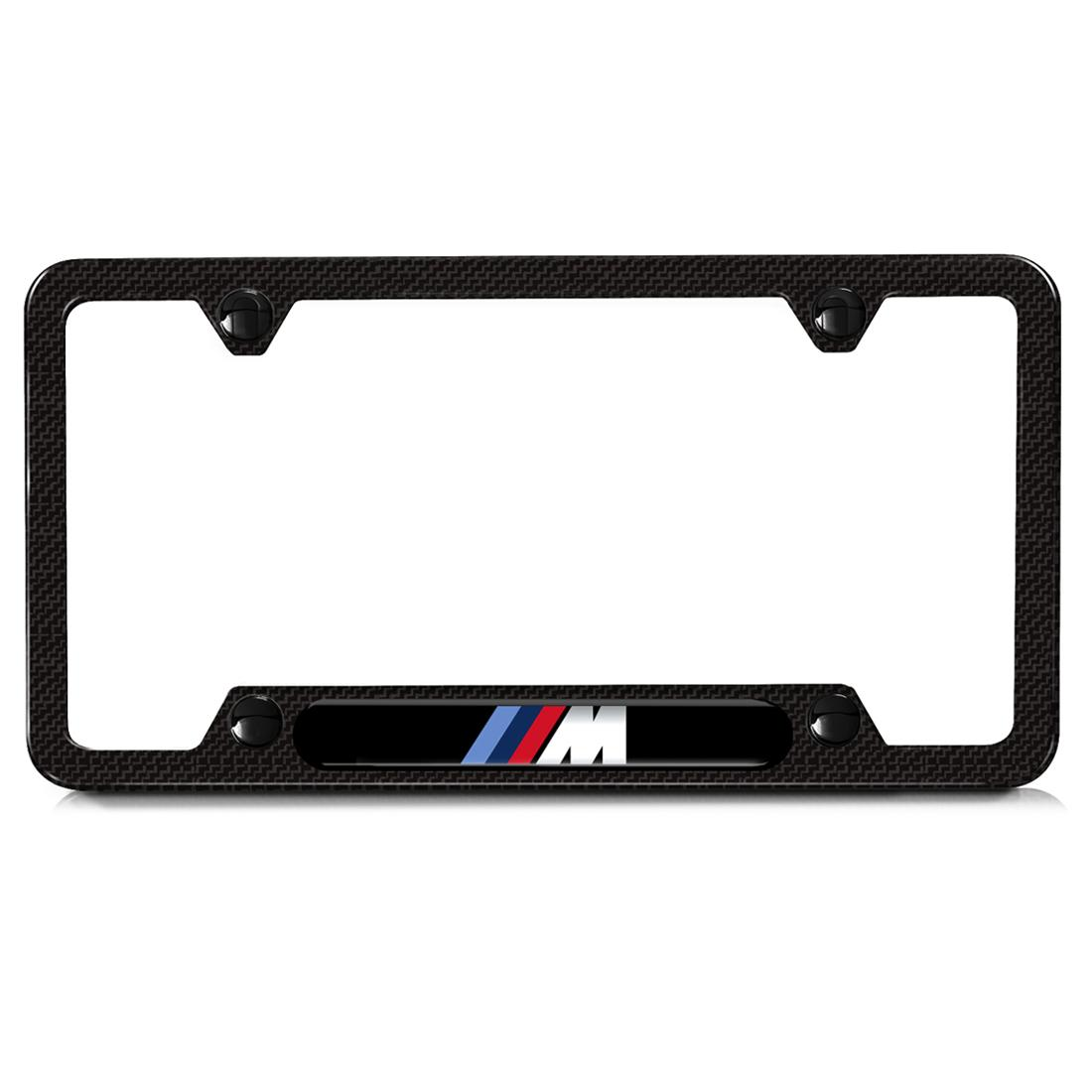 BMW M Carbon Fiber License Plate Frame  sc 1 st  ShopBMWUSA.com : liscense plate holder - pezcame.com