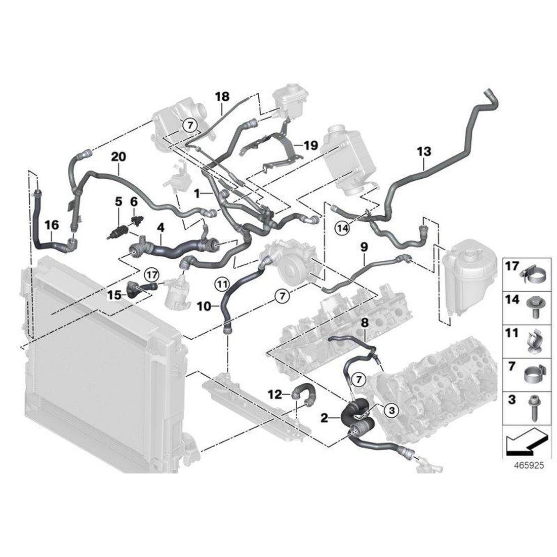 Temperature sensor, coolant