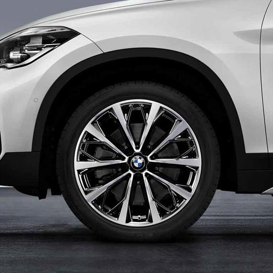 BMW Style 573 Summer Complete Wheel and Tire Set