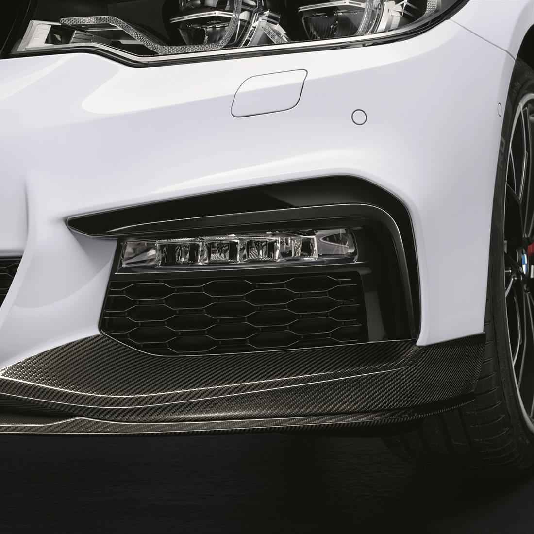 BMW Bumper Trims in High Gloss Black