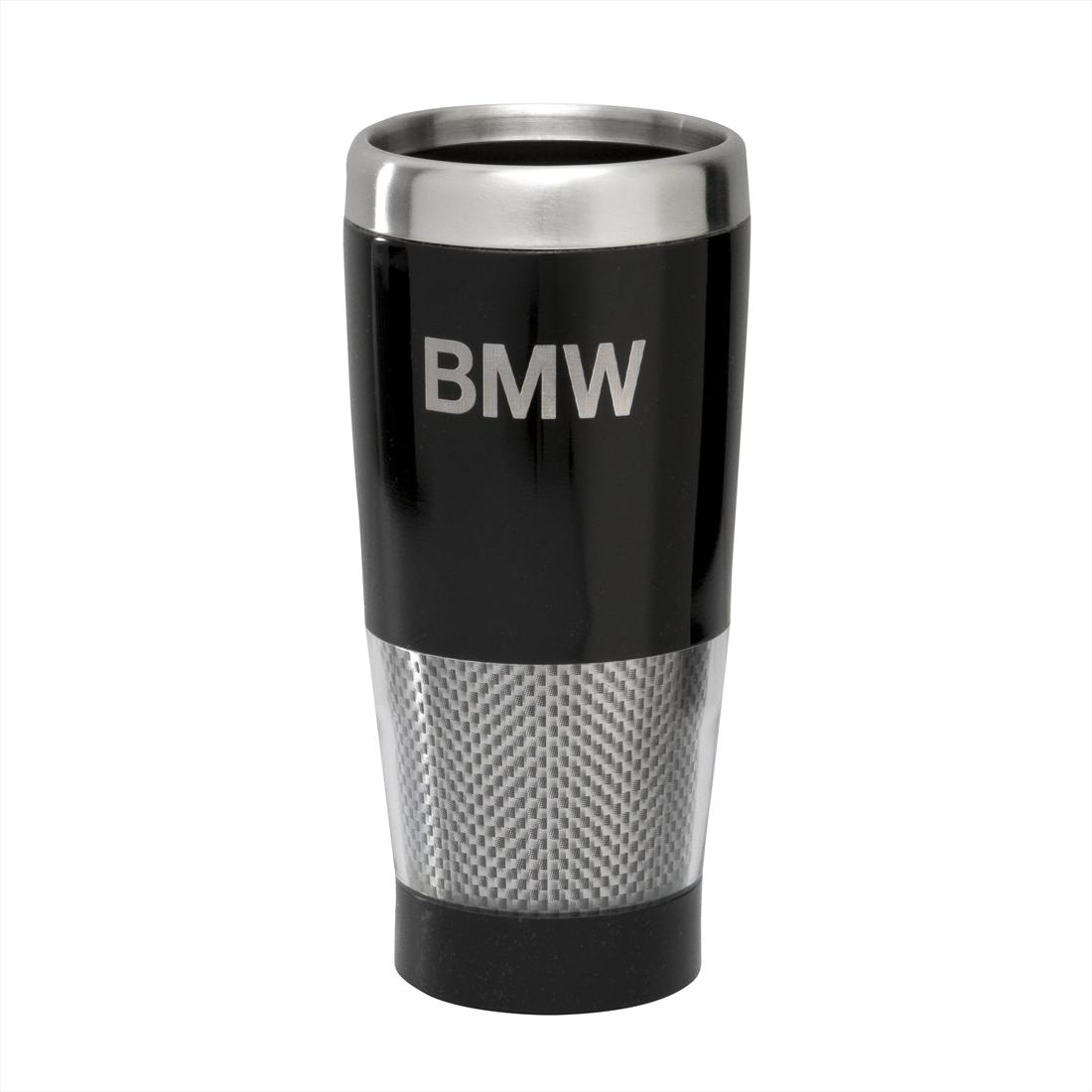 BMW Carbon Effect Travel Mug
