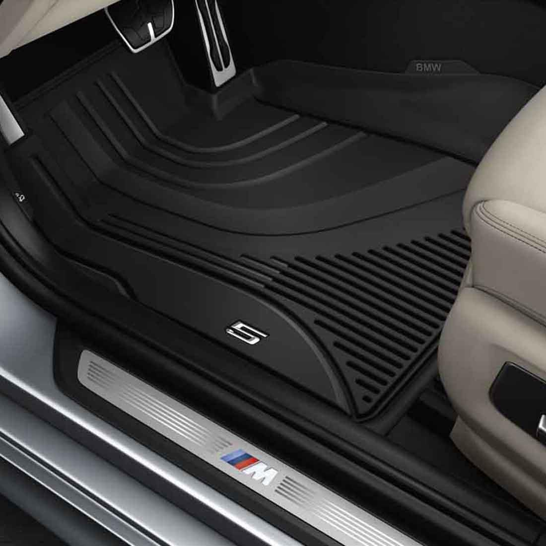5 Series Front / Rear Rubber Floor Liners