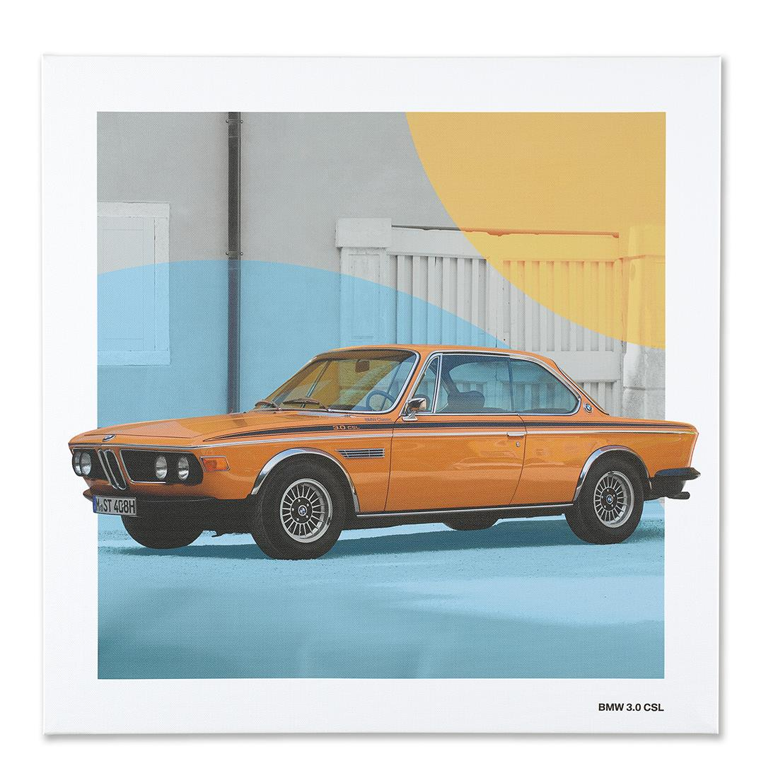 BMW Classic Canvas Art Print BMW 3.0 CSL