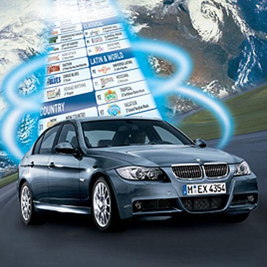 BMW SIRIUS Satellite Radio (Vehicles produced from 03/08 to 08/08)