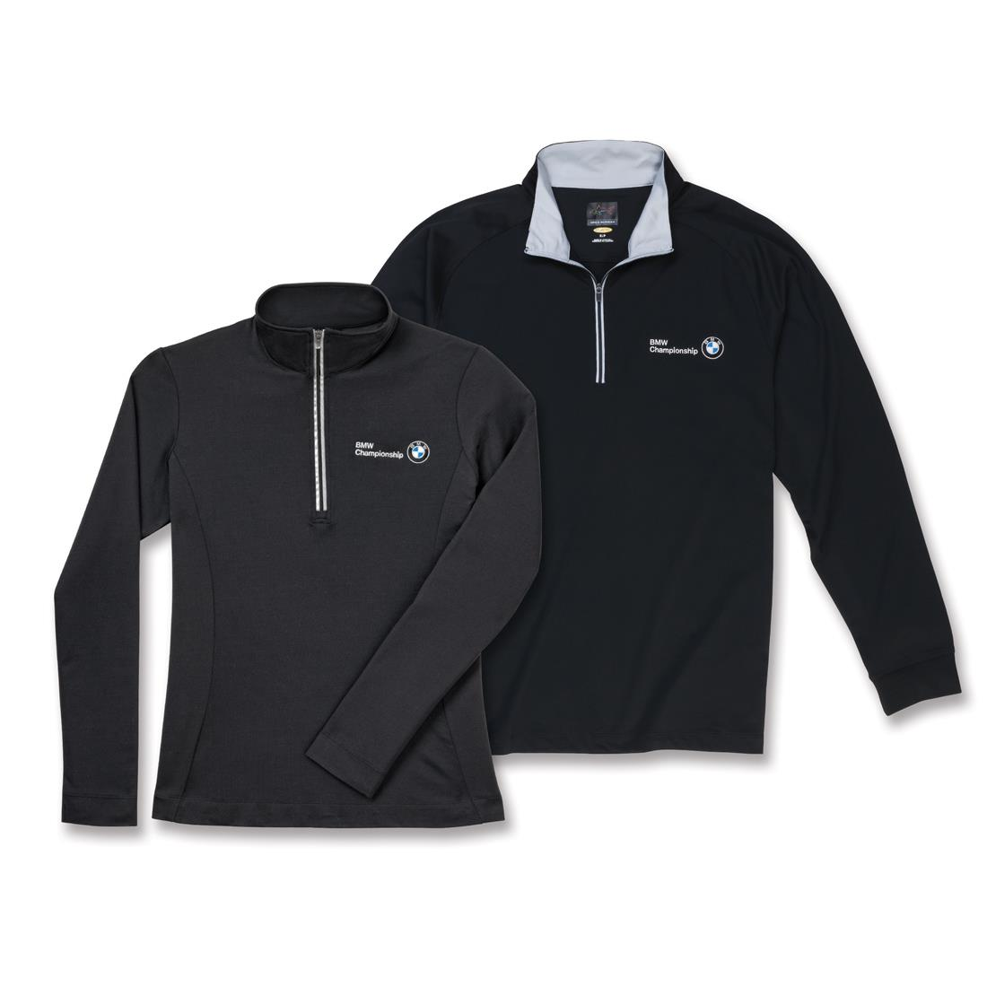 BMW Men's Greg Norman Play Dry® ¼ Zip Performance
