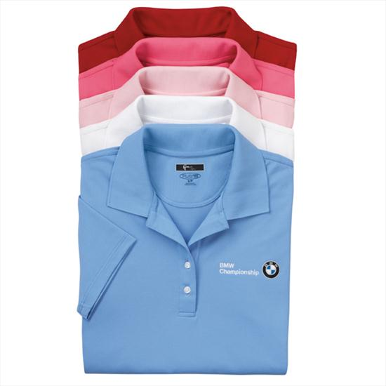 BMW Ladies' Greg Norman Play Dry Mesh Polo