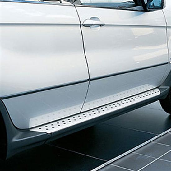 BMW Brushed Aluminum Running Boards