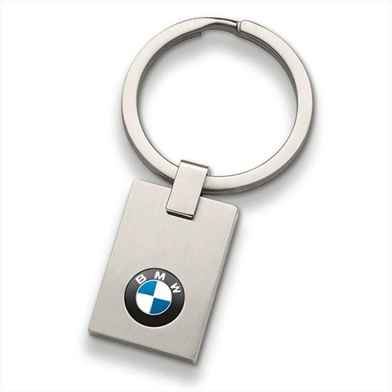 BMW Key Ring Pendant, Square