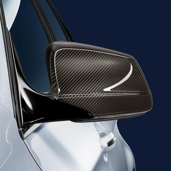 BMW M Performance Carbon Fiber Mirror Cap Set