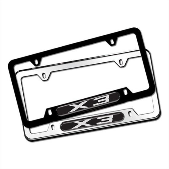BMW X3 License Plate Frames