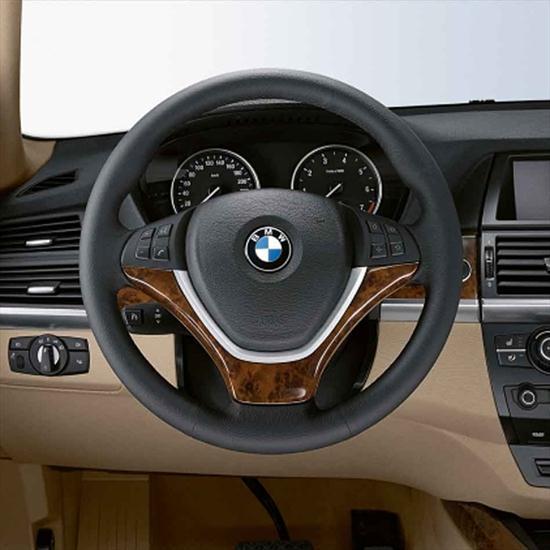 BMW Wood Steering Wheel Cover