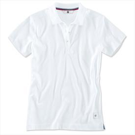 BMW Ladies' Polo Shirt White