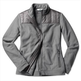BMW Fleece Jacket Women's Grey