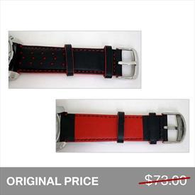 BMW M Leather Wrist Strap