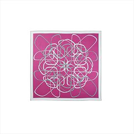 BMW Ladies' Distinctive Kidney Style Scarf Fuchsia